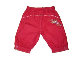 Short Trousers Fuchsia Girl - Escale a Marseille