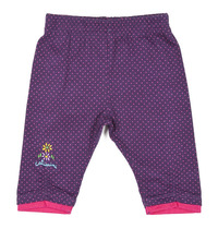 Leggings Purple and pink polka dot - Spirit Couleur