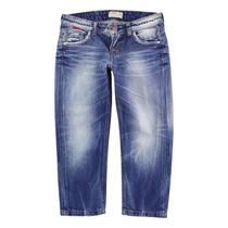 Purple - Denim Trousers Navy Blue