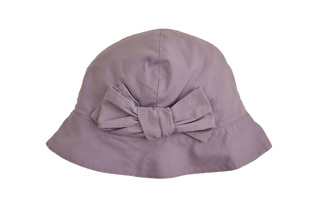 Lallegresse - Lavender hat with bow