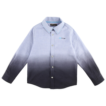 Blue Grey Long Sleeve Shirt - Spring (Kid)