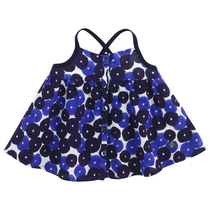 Dark Blue Top with Spagetti Straps - Edition Limitee