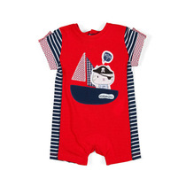 Pirate Sailing cat romper - Urban