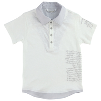 White & grey polo shirt - Chic