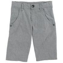 Grey Checked Bermudas - Spring (Kid)
