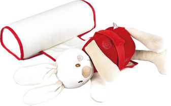 Red Rabbit Baby Safety Roll