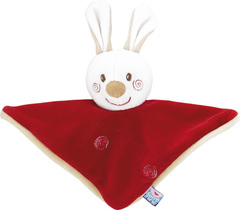 Soft Red Rabbit Toy