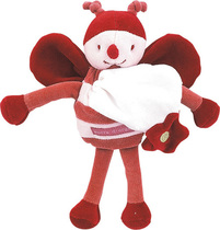 Bee Doudou Comforter Red