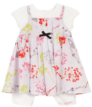 Floral Dress Romper Poetic Safari