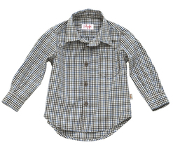 Coke grey checked longsleeve shirt