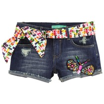 Salta - Denim Shorts Navy Girl