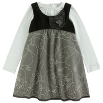 Grey Long Sleeve Dress - Edition Speciale (Kid)