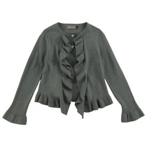Gray Long Sleeve Cardigan - Edition Speciale (Kid)