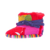 Multi Coloured Patch Booties - Spirit Couleur