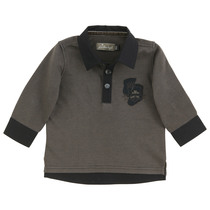 Chestnut Long Sleeves Polo Shirt - Edition Speciale (Tiny)