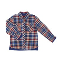 Checked Royal Blue and Red Shirt - Spirit