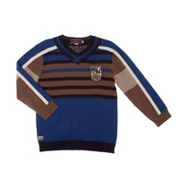 Dark Blue and Beige Pullover - Spirit