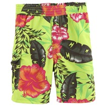 Acid green floral swimwear - Urban Global Mix