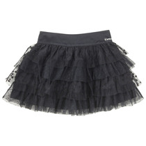 Black Layered Tulle Skirt - Ceremonie