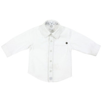 Long sleeved white formal shirt - Black City