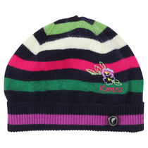 Knitted Striped Hat - La Piste Aux Etoiles