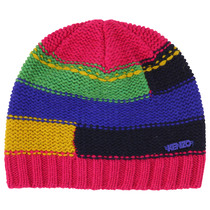 Thick Striped Knitted Hat - La Piste Aux Etoiles
