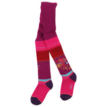 Pink and Red Knitted Tights - La Bonne Aventure