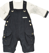 Little Deer Dungaree Outfit - Feerie D'Hiver