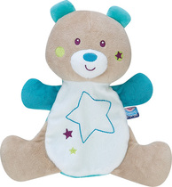 Glow In The Dark Teddy Bear With Star For Boys