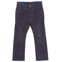 Dark Blue Black Velour Trousers - Spirit