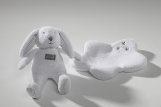Mr.Martin Lapin- a combi rattle and doudou blanket