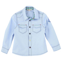 Light Blue Shirt - La Piste Aux Etoiles