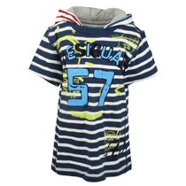 Nuba - Striped navy and white Tshirt - Fun