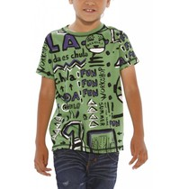 Mohave - Green Tshirt with fun graphic detail - Tribu