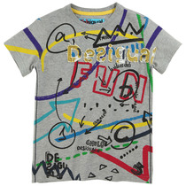 Taureg - Grey Tshirt with fun graphics - Tribu