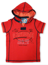 Comancho - Red Tshirt with hoodie - Fun