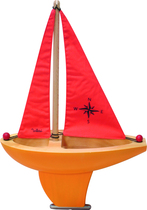 Large sailing boat - Red