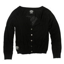 Black mirage cardigan
