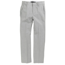 Grey formal suit trousers