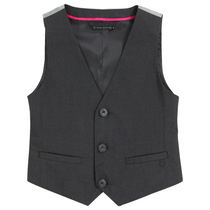 Black Couture Waistcoat