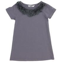 Mouse Grey Tunic with detailed neckline - My Idol,a' La Folie