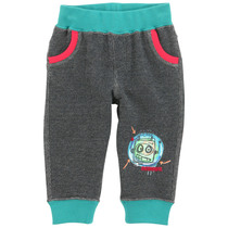 Mariposa - Galapagos green with red trim track suit pants
