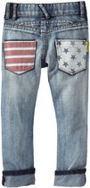 Star and stripe pocket denims