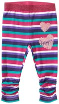 Crema - Stripped baby leggings in pink, purple, white, turquoise and navy