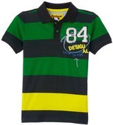 Aracus short sleeve polo shirt in bold green