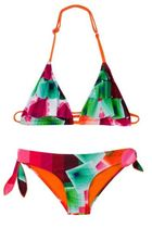 Aneto bikini in bright op art diamond patterns