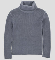 Asphalt grey turtle neck sweater