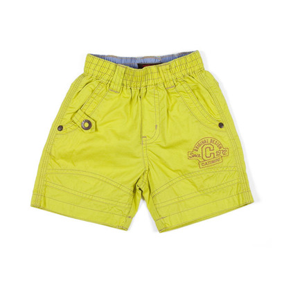Acid green bermuda shorts - Urban Global Mix