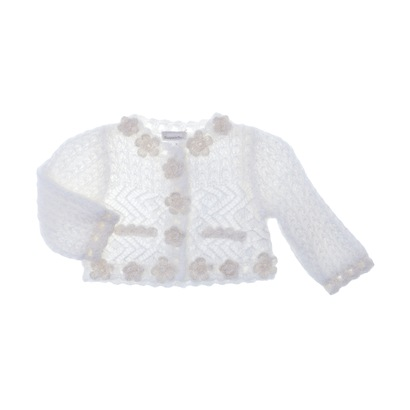 Off-White Knitted Cardigan - Spirit Couture