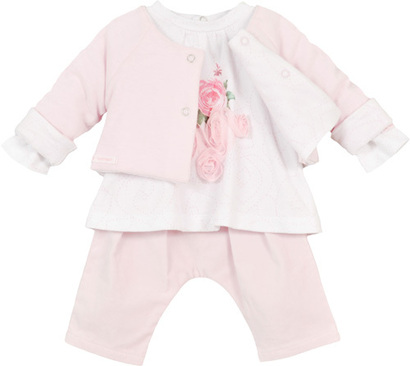 3 Piece Rose Trousers Outfit - Beautiful Baby